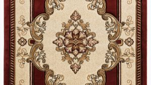 Burgundy and Beige area Rugs Josephus Burgundy Beige area Rug