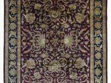 Burgundy and Blue area Rugs Tabriz oriental Rug 9 X12