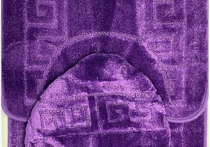 Burgundy Bath Rugs Sets Bathroom Rugs Sets 3 Piece Bath Pattern Rug Set 20×32 Large Contour Mats 20×20 with Lid Cover Purple