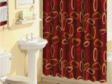 Burgundy Bath Rugs Sets Home Dynamix Boutique Deluxe Shower Curtain and Bath Rug Set Bou 10 Oval Rings Burgundy 17 Piece Bath Set Walmart Com