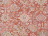 Burnt orange 5×7 area Rug Surya Classic Nouveau Csn 1005 area Rugs