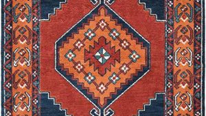 Burnt orange and Blue area Rug Amazon Padilla Dark Blue and Burnt orange Updated