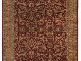 Call Of Duty area Rug Moghul Hand Knotted Wool Red Gold area Rug