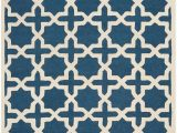 "Cambridge Navy Blue Ivory area Rug by Safavieh Safavieh Cambridge Cam125g 2 0"" X 3 0"" Navy Blue Ivory"