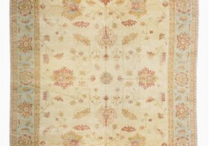 Can You Scotchgard area Rugs Oushak Hand Knotted Wool Ivory area Rug