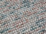 Carina Synthetic Rug Porcelain Blue Magic Oasis We are Home