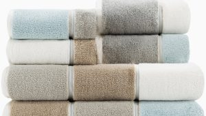 Caro Home Bath Rugs Maya 6 Piece towel Set Caro S Best Seller Horizontal Striped towels Maya Linen