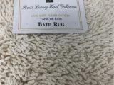 """Castle Hill London Bath Rug Castle Hill London Beige soft Plush Cotton Bath Rug 17"""" X 24"""