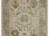 """Cat themed area Rugs 5×7 Lapis Rugs area Rug 5×7 Alcantra Vintage Collection oriental Low Pile Turkish Carpet 5 2"""" by 7 2"""" Cream Blue Walmart"""