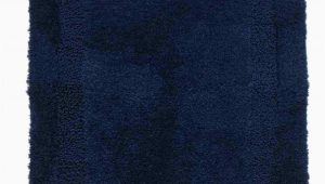 Chaps Richmond Bath Rugs Chaps Richmond Navy Blue Plush Pile Throw Rug 19×34 Skid Resistant Bath Mat