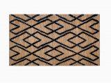 Charcoal and Tan area Rug Fleishman Geometric Handwoven Wool Charcoal Tan area Rug