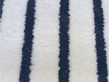 "Charter Club Elite Bath Rug Charter Club Elite Bath Mat Stripe 19 3"" X 34"" Fashion Bath Rug Blue & White"