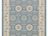 Cheap 8 by 10 area Rugs Bridgeport Home Zara Zar8 Blue 8 X 10 area Rug & Reviews