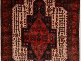 """Cheap area Rugs and Runners Ghoochan Red Runner Hand Knotted 4 11"""" X 10 0"""" area Rug 100"""