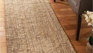 "Cheap area Rugs and Runners Natural area Rugs Jute Runner Rug Calvin Collection Basketweave & Chunky Texture Handmade Natural Fiber Jute Runner Rug Beige 2 6"" X 8"