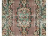 """Cheap area Rugs Under 50 Turkish Vintage area Rug 4 2"""" X 7 9"""" 50 In X 93 In"""