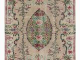 """Cheap area Rugs Under 50 Turkish Vintage area Rug 4 2"""" X 8 1"""" 50 In X 97 In"""