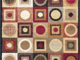 Chelsi Rings Circles area Rug Modern Circles Geometric area Rug 5×7 Multi Carpet
