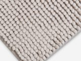 Chenille Lines Bath Rug Collection John Lewis & Partners Chenille Bobble Bath Mat Silver Grey