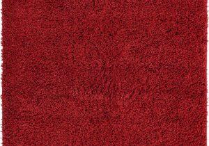 Cherry Red Bathroom Rugs Cherry Red 5 X 8 Everyday Shag Rug