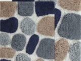 Chesapeake Pebbles Bath Rug Chesapeake Rug 21×34 24×40 Blue Sienna