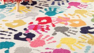 Children S area Rugs Walmart Nuloom Machine Made Pinkie Handprint Kids area Rug Walmart