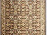 Chocolate Brown and Turquoise area Rugs 9 X12 Gunther Beige Chocolate Brown Turquoise Multi