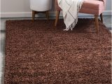 Chocolate Brown area Rugs 8×10 Chocolate Brown 8 X 10 solid Shag Rug area Rugs