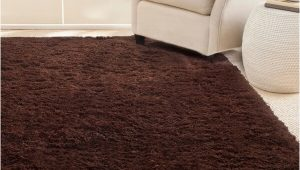 Chocolate Brown area Rugs 8×10 Shop Martha Stewart by Safavieh Shag Chocolate Brown