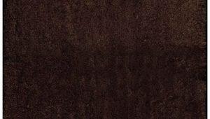 "Chocolate Brown Bath Rugs Home Dynamix Alpine Chocolate Brown Bathroom Mat Absorbent and Ultra Plush 4 21"" X 54"""