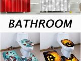 Christmas Bathroom Rugs and towels How to Decorate Your Bathroom Shower Curtains Bath Rugs and