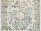 Ciato Blue Vintage Modern Rug Kensington Well Woven