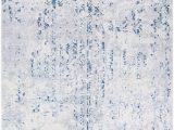 Citium Blue area Rug Ophelia Co Jakes Steel Blue Ivory area Rug