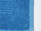 Cobalt Blue Bathroom Rugs Imperial Plain Bath Mat Cobalt Blue