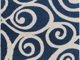 Cobalt Blue Modern Rug Swift Current area Rug Cobalt Blue