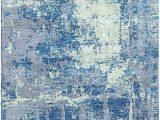 Cobalt Blue Rug 8×10 Calypso Blue Edward Green Silken Modern 8×10 Rug