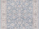 Concord Global Trading area Rugs Concord Global Trading Kashan 2814 Bergama Blue area Rug