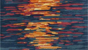 Contemporary area Rugs orange and Blue Contemporary area Rugs orange and Blue