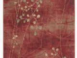 """Copper Grove Uwharrie Floral area Rug Accessory somerset Flame 3 6"""" X 5 6"""" area Rug Flame In 2020"""