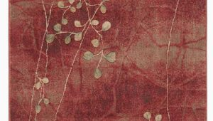 "Copper Grove Uwharrie Floral area Rug Accessory somerset Flame 3 6"" X 5 6"" area Rug Flame In 2020"