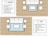 Correct area Rug Size for Living Room How to Buy the Right Size Rug for the Living Room