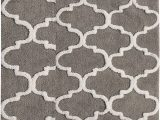 Cotton Bathroom Rug Sets Saffron Fabs 2 Piece Bath Rug Set soft Cotton Size 24×17 Inch and 34×21 Inch Latex Spray Non Skid Backing Grey White Geometric Pattern 190