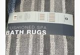 Country Living Bath Rugs town Country Living Cushioned Spa Bath Rugs Gray 2