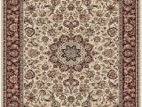 Cream and Red area Rugs Feizy Daria 3980f Cream Red Closeout area Rug Rugs A Bound