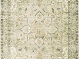 Cream and Sage area Rug Absalom oriental Cream Sage area Rug