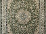 Cream and Sage area Rug Feraghan New City Traditional area Rug 13 X 16 Sage Green
