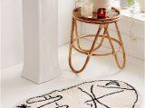 Custom Shaped Bathroom Rugs Palmistry Bath Mat