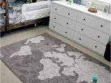 Cute area Rugs for Bedroom Lorena Canals Machine Washable World Map Rug Super Cute