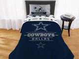 Dallas Cowboys area Rugs Sale Nfl Dallas Cowboys Monument Twin Xl forter Set 1 Each Walmart