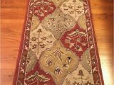 Dalyn Casual Elegance area Rug Dalyn Rug Co Wool 2 3×8 Runner Jewel Design Color Paprika 2003 India